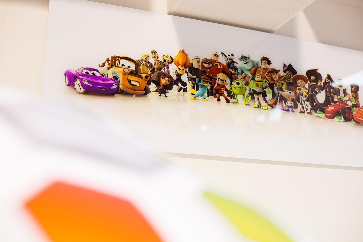 poster de Pixar en Puzzle Mobiliario